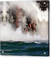 Hawaii Lavaflow 1 Acrylic Print