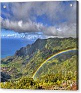 Hawaii Rainbow 2 Acrylic Print
