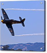 Hawker Sea Fury Acrylic Print