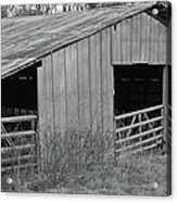 Hay Barn In The Back 40 Acrylic Print