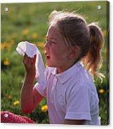 Hay Fever Acrylic Print