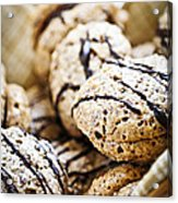 Hazelnut Cookies Acrylic Print
