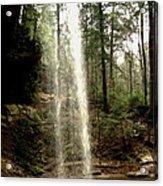 Hcking Hills Waterfall Acrylic Print