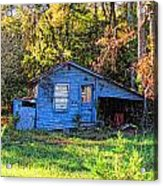 Hdr- Shed Acrylic Print