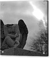 Headless Angel Acrylic Print