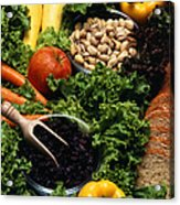 Healthy Foods Acrylic Print
