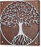 Heart-fruit Tree Acrylic Print