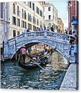 Heart In Venice Acrylic Print