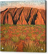 Heart Of Australia Acrylic Print by Lisa Frances Judd