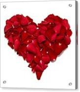 Heart Of Petals Acrylic Print