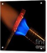 Heating Metal 1 Of 3 Acrylic Print