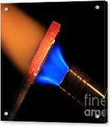 Heating Metal 2 Of 3 Acrylic Print