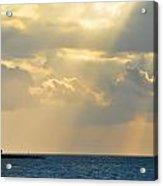 Heaven Looks Down On Paradise - Key West Florida Acrylic Print