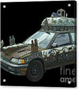 Heaven Or Hell Car Acrylic Print