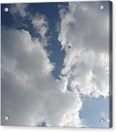 Heavenly Clouds Acrylic Print