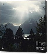 Heavenly Rays Acrylic Print