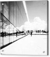 Heavenly Walk In Oslo 3 Acrylic Print by Marianne Hope