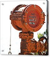 Heavy Duty Mailbox Acrylic Print