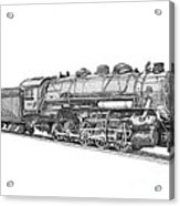 Heavy Steam Switcher 0-10-0 Acrylic Print