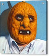Heavy Vegetable-head Acrylic Print by James W Johnson