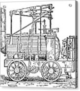 Hedley's Puffing Billy, 1813 Acrylic Print