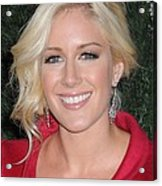 Heidi Montag At Arrivals For Mtv Hosts Acrylic Print