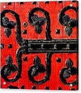 Heinz Chapel Door Detail Acrylic Print