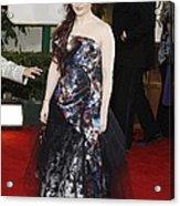 Helena Bonham Carter Wearing A Viviene Acrylic Print by Everett