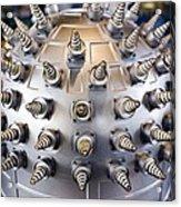Helical Array Antenna Acrylic Print
