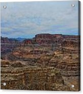 Helicopter View Of The Grand Canyon Acrylic Print