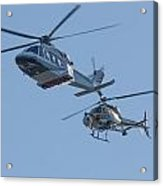 Helicopters Acrylic Print