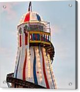 Helter Skelter Acrylic Print