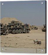Hemtt Trucks Carry Combat Modified Acrylic Print