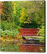 Henes Park Pond Bridge Acrylic Print
