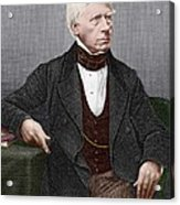 Henry Brougham, Scottish Lawyer Acrylic Print by Sheila Terry