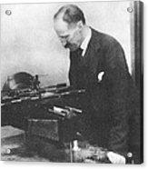 Henry Rowland, American Physicist Acrylic Print