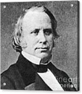Henry Wilson Acrylic Print by Photo Researchers
