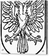 Heraldry: Birds Acrylic Print