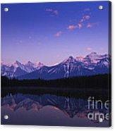 Herbert Lake Sunrise Acrylic Print