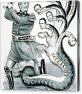 Hercules Of The Union, 1861 Acrylic Print