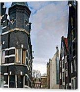 Herengracht 395. Amsterdam Acrylic Print
