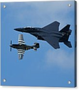 Heritage Flyby Acrylic Print