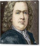 Hermann Boerhaave, Dutch Physician Acrylic Print