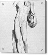 Hermes/mercury Acrylic Print