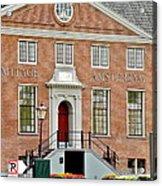 Hermitage Amsterdam Brick Building Acrylic Print