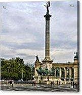 Heros Square - Budapest Acrylic Print