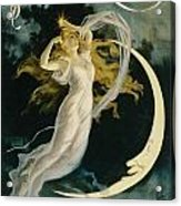 Herrmann Maid Of The Moon Acrylic Print by Unknown