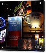 Hershey's At Times Square 85 Acrylic Print by Padamvir Singh