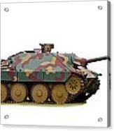 Hetzer Tank Destroyer Acrylic Print