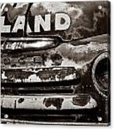 Hi-land  -bw Acrylic Print by Christopher Holmes